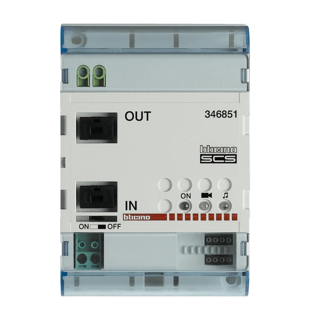 Bticino - TIC346851 -  Module d'extension d'installation BUS 2 fils - 4 modules DIN