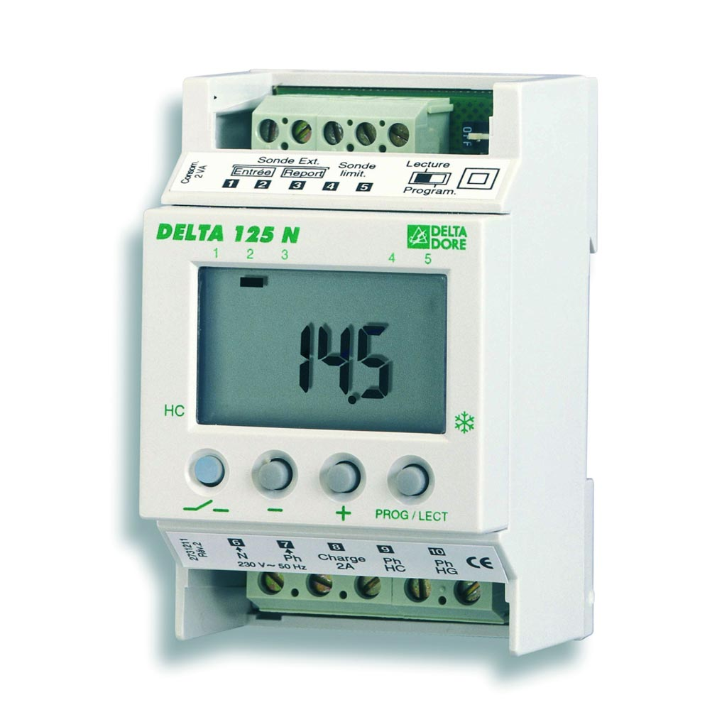 Delta dor - DDO6002004 - DELTA DORE 6002004 - DELTA125N -  REGULATEUR DIGITAL TEMPERATURE EXTERIEURE