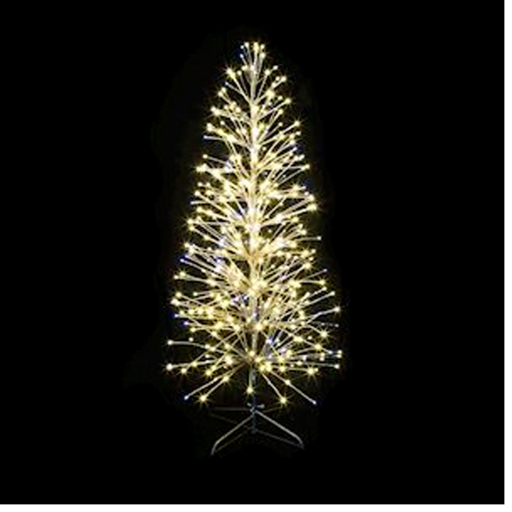 Festiligh - FEH40479CMATP9 - FESTILIGHT 40479-CMATP9  -  SPRAY- Sapin spray cuivre H1,50m-320LED Blanc chaud pétillant