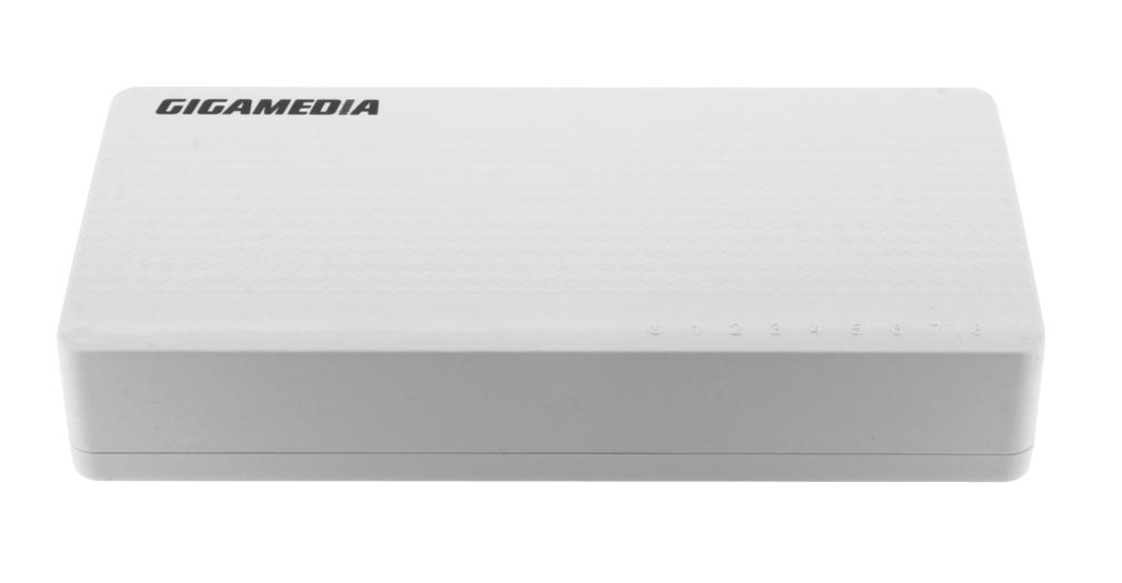Gigamedia - GGMNE808XR - GIGAMEDIA  - Switch unmanaged 8 ports 10/100